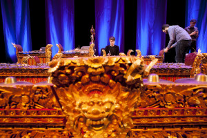 Will rehearsing with barong in the foreground